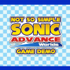 Not So Simple Sonic Advance Worlds Game SAGE 2020 Demo